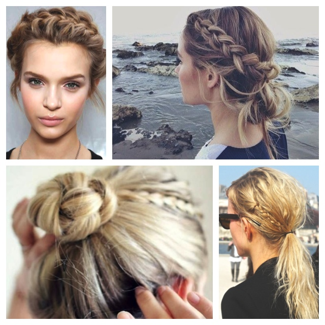 Pleasant How To Crown Braid With Messy Bun Braids Hairstyles For Women Draintrainus