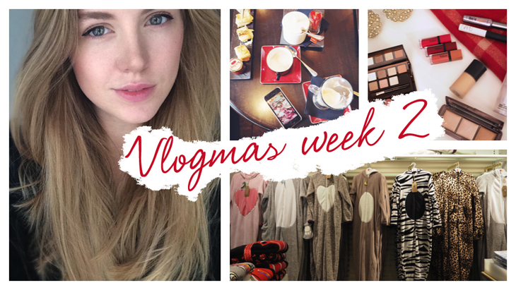 Vlogmas weekly vlog  #2