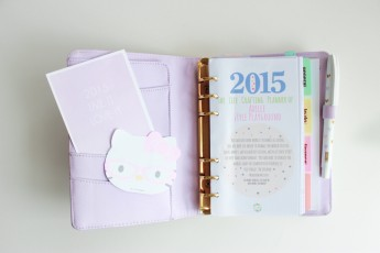 What's in my blogging planner