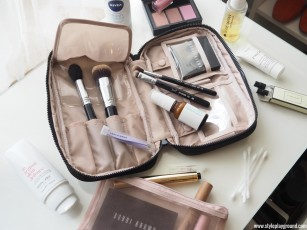 How I finally learned to streamline my beauty bag when travelling