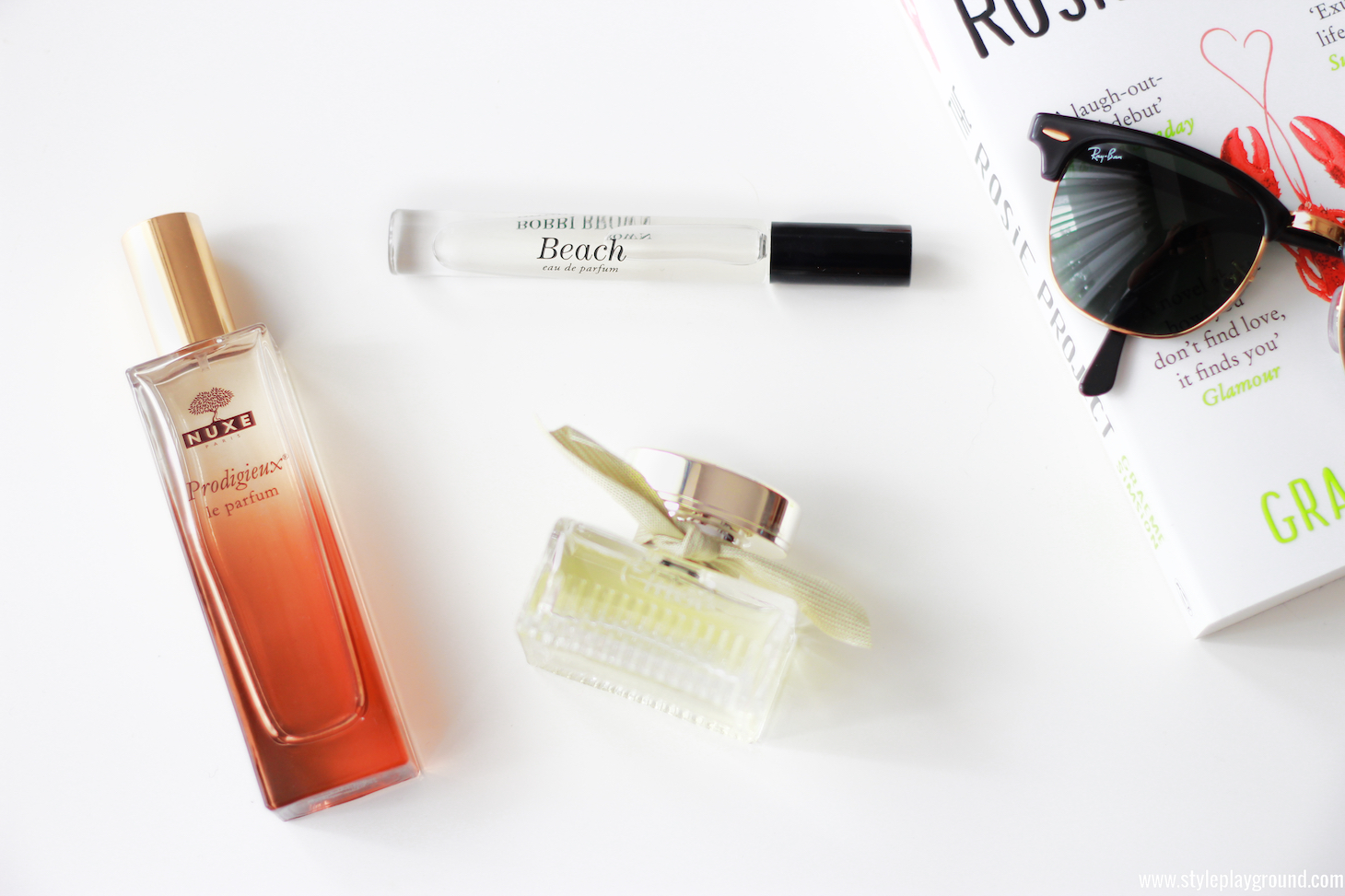 3 perfect summer scents