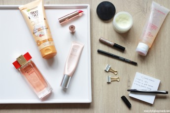 The quick beauty routine