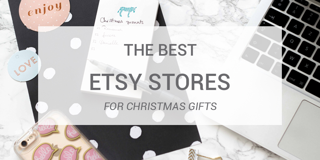 The best Etsy stores for Christmas gifts