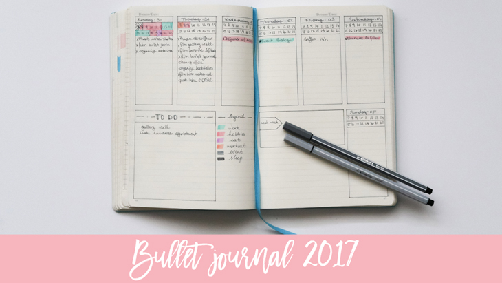 Planner update & my bullet journal