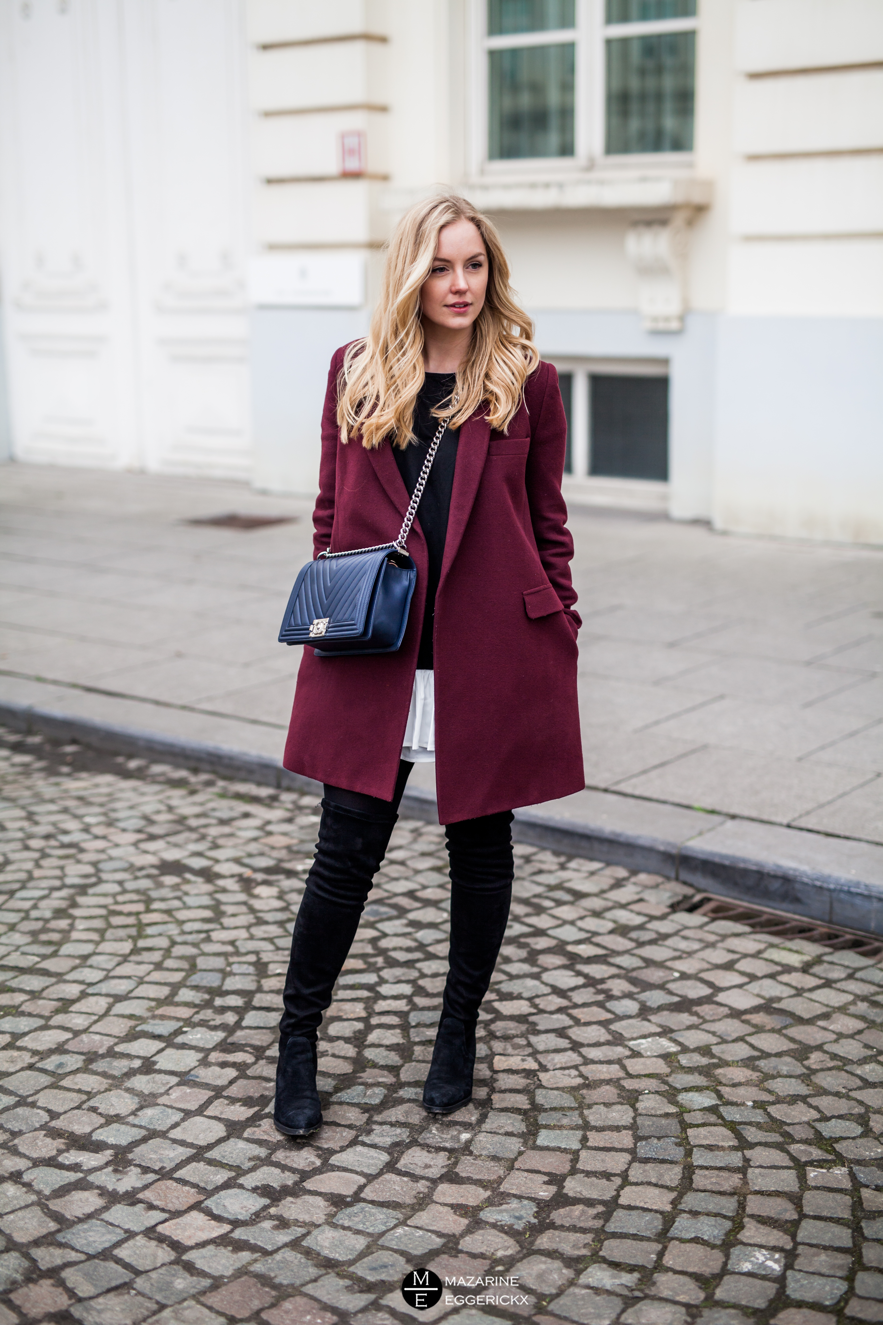 how to wear thigh high boots while being chic