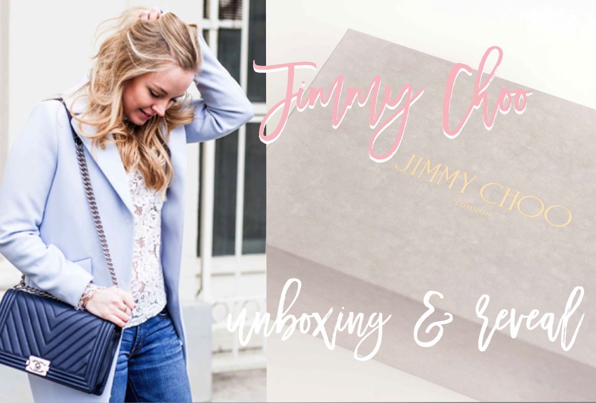 Jimmy choo unboxing & reveal
