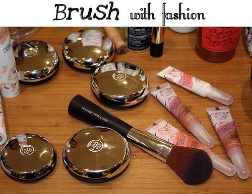 Brush with fashion
