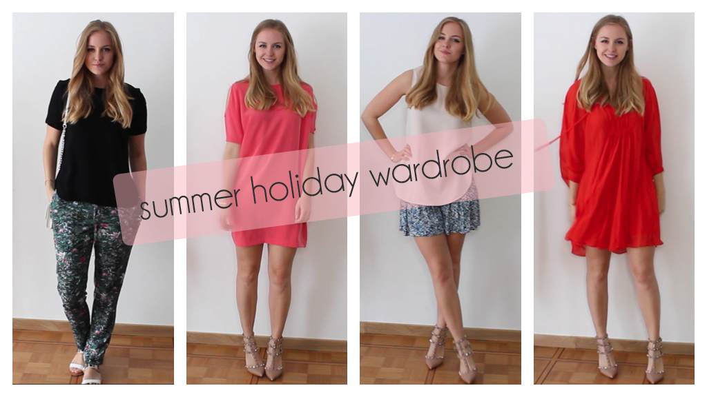 summer holiday wardrobe /// Axelle Blanpain /// Style playground