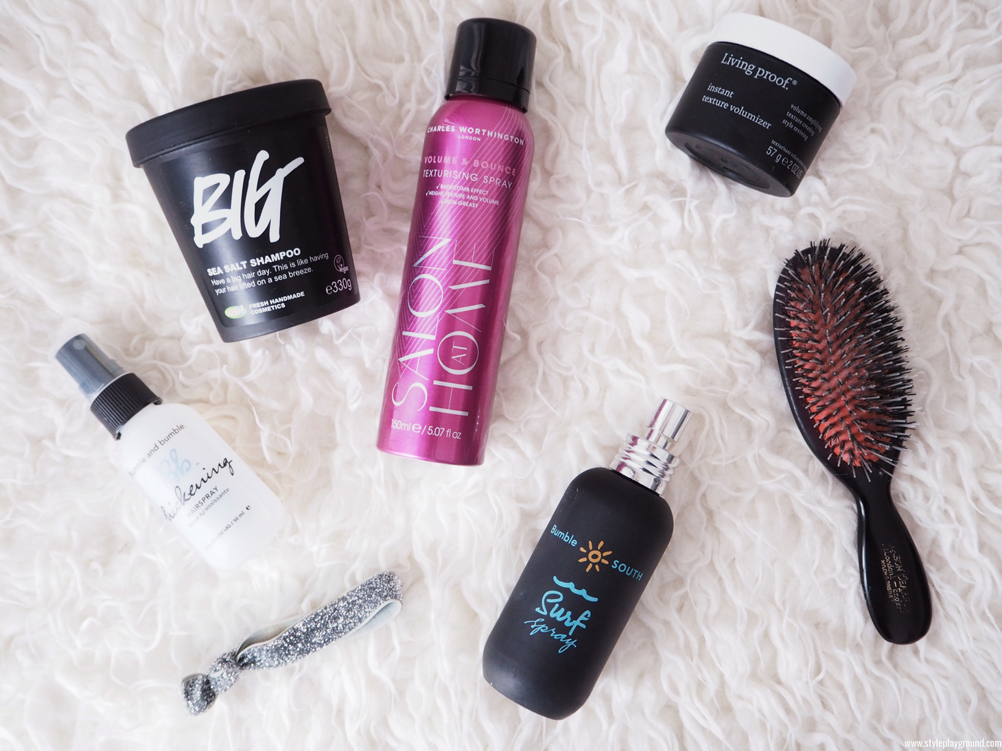 5 products for voluminous hair
