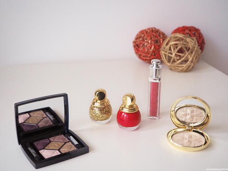 Dior golden shock