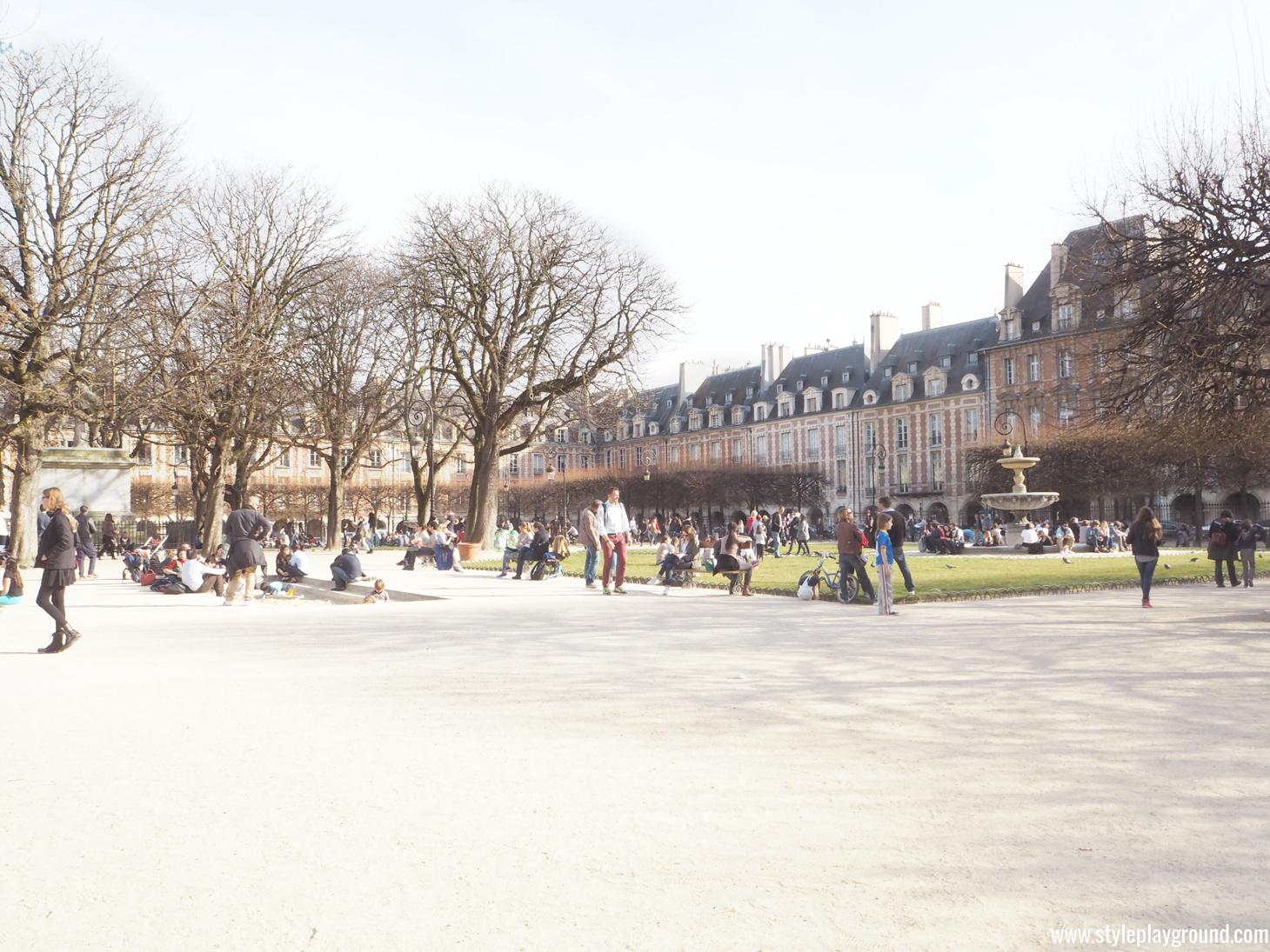Paris photo diary by Axelle Blanpain of Style playground